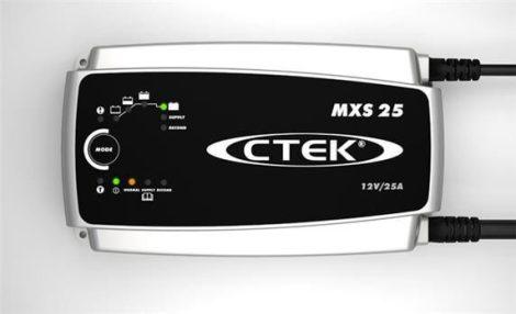 CTEK MXS 25 autó akkumulátor töltő, karbantartó