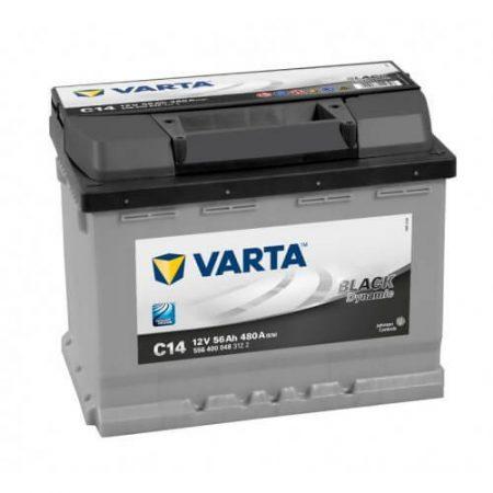 Varta Black Dinamic 12V 56Ah 480A 556400 autó akkumulátor jobb+ (+AJÁNDÉK!)