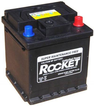 Rocket 54018 40Ah 350A autó akkumulátor jobb+ (+AJÁNDÉK!)