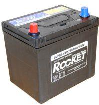 Rocket 65Ah 12V autó akkumulátor 75D23R ASIA bal+ (+AJÁNDÉK!)