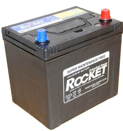 Rocket 65Ah 12V autó akkumulátor 75D23L ASIA jobb+ (+AJÁNDÉK!)