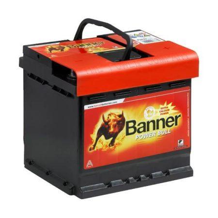 Banner Power Bull 12V 44Ah 420A P4409 autó akkumulátor jobb+ (+AJÁNDÉK!)