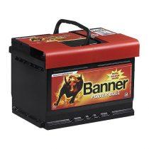 Banner Power Bull 12V 60Ah 540A P6009 autó akkumulátor jobb+ (+AJÁNDÉK!)