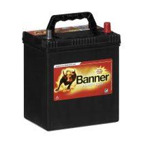 Banner Power Bull 12V 40Ah 330A P4026 autó akkumulátor ASIA jobb+ (+AJÁNDÉK!)