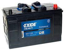 EXIDE HEAVY PRO EG1100 12V 110Ah autó akkumulátor jobb+ (+AJÁNDÉK!)
