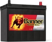 Banner Power Bull 12V 45Ah autó akkumulátor P4523 ASIA jobb+
