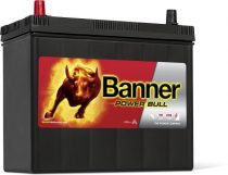 Banner Power Bull 12V 45Ah autó akkumulátor P4524 ASIA bal+