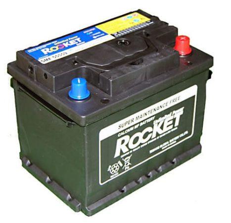 Rocket 55Ah 12V autó akkumulátor 55559 jobb+