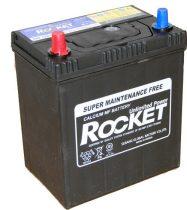 Rocket 40Ah 12V autó akkumulátor 42B19R ASIA vékonysaru bal+ (+AJÁNDÉK!)
