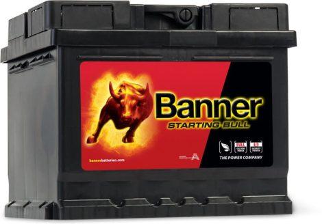 Banner Starting Bull 12V 44Ah 360A autó akkumulátor 544 09 JOBB+ (+AJÁNDÉK!)