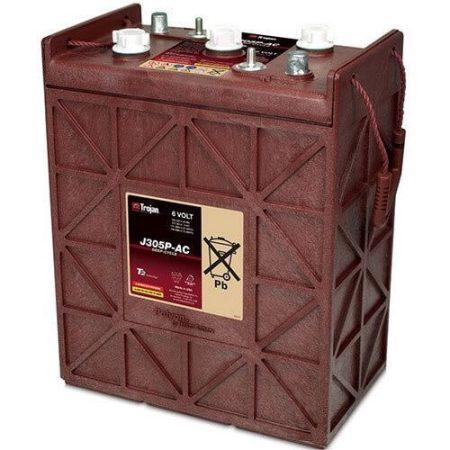 Trojan J305P 6V 330Ah/20h 271Ah/5h munka akkumulátor 3/9 GiS 256