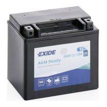 Exide AGM12-12M motorkerékpár akkumulátor 12V 12Ah 200A JOBB+ (+AJÁNDÉK!)