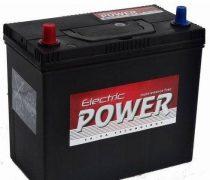 Electric Power 12V 45Ah 430A ASIA BAL+ autó akkumulátor (+AJÁNDÉK!)