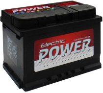 Electric Power 12V 60Ah 500A JOBB+ autó akkumulátor (+AJÁNDÉK!)
