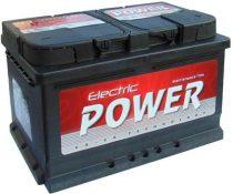 Electric Power 12V 72Ah 680A JOBB+ autó akkumulátor (+AJÁNDÉK!)