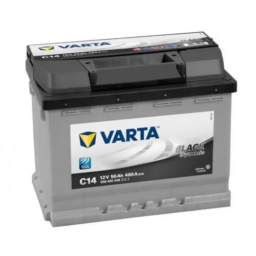 Varta Black Dinamic 12V 56Ah 480A autó akkumulátor jobb+