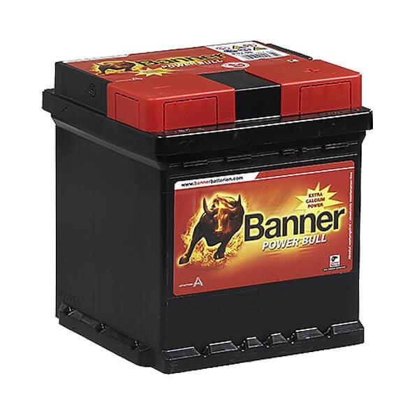 Banner Power Bull 12V 42Ah 390A autó akkumulátor jobb+