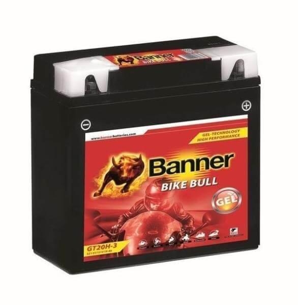 Banner GT20H-3 12V 19Ah Bike Bull GEL motorkerékpár akkumulátor