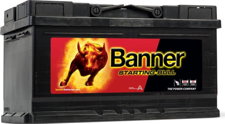 Banner 12V 80Ah 660A Starting Bull akkumulátor 580 14 jobb+