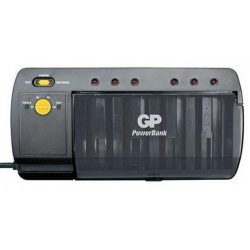 GP PBS320 univerzális NiMH akkumulátor töltő