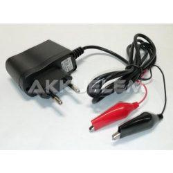 6V 400mA ólomsavas akkumulátor töltő