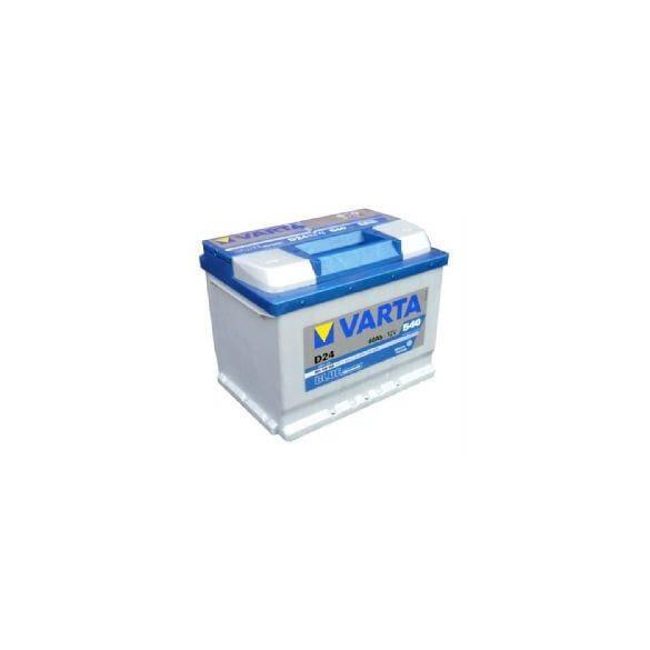 Varta Blue Dinamic 12V 60Ah 540A 560408 autó akkumulátor jobb+