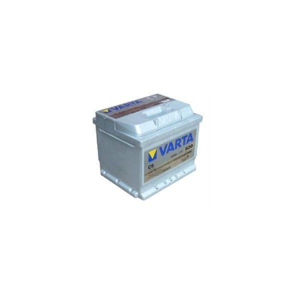 Varta Silver Dinamic 12V 52Ah 540A 552401 autó akkumulátor jobb+