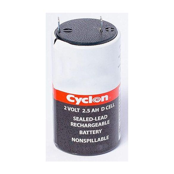 Cyclon 2V 2,5Ah ólomakku D