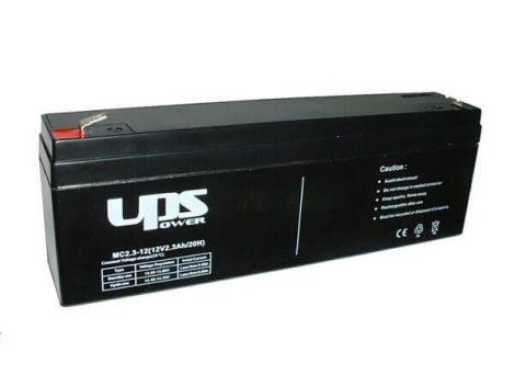 UPS Power 12V 2,3Ah zselés akkumulátor (MC2.3-12)