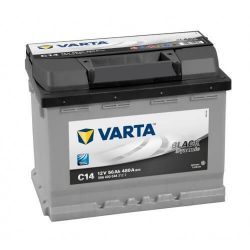 Varta Black Dinamic 12V 56Ah 480A 556400 autó akkumulátor jobb+