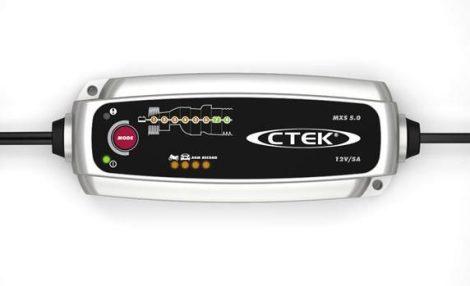 CTEK MXS 5.0 autó akkumulátor töltő, karbantartó