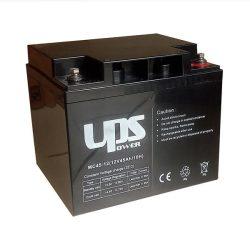 UPS Power 12V 45Ah zselés akkumulátor (MC45-12)