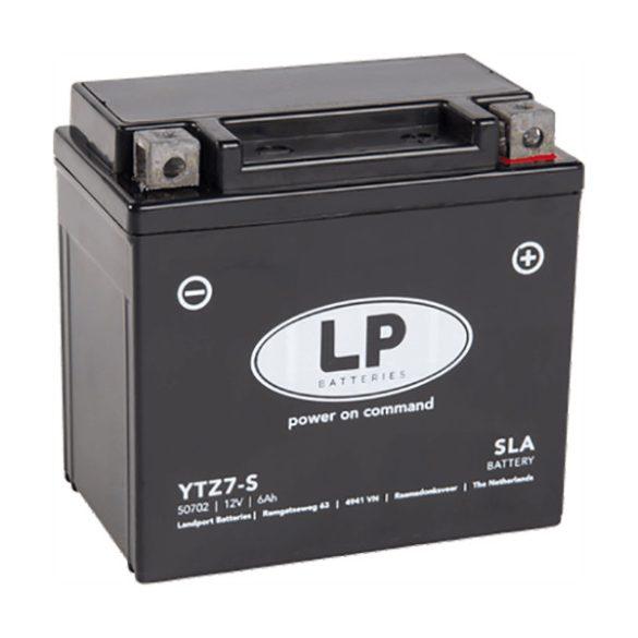 MKP AKKU 12V 6Ah YTZ7-S Landport 50702 11570105mm Jobb+ Gyz