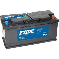 EXIDE Excell EB1100 110Ah 840A autó akkumulátor jobb+