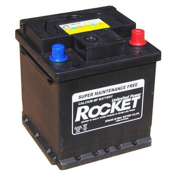 Rocket 54018 40Ah 350A autó akkumulátor jobb+