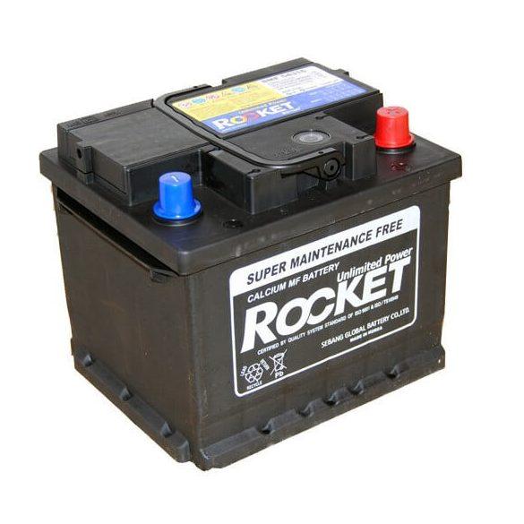Rocket 54316 43Ah 420A autó akkumulátor jobb+