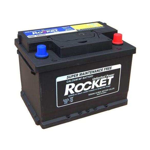 Rocket 56220 62Ah 540A autó akkumulátor jobb+
