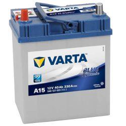 Varta Blue Dinamic 12V 40Ah 330A Asia 540127 autó akkumulátor bal+