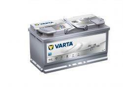 Varta Silver Dynamic G14 12V 95Ah autó akkumulátor 595901 AGM start-stop jobb+