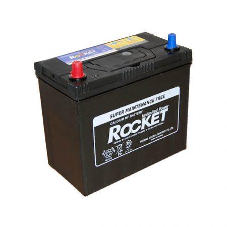 Rocket 45Ah 430A SMF NX100-S6S akkumulátor 238x129x225 ASIA Bal+