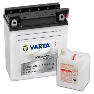 Varta YB9-B-12N9 12V 9Ah motorkerékpár akkumulátor