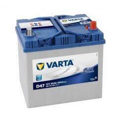 VARTA 12V 60Ah 540A D47 Blue Dynamic ASIA akkumulátor 560410