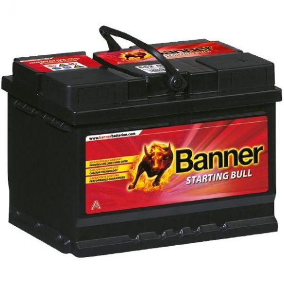 Banner Starting Bull 12V 55Ah 450A 55519 autó akkumulátor jobb+