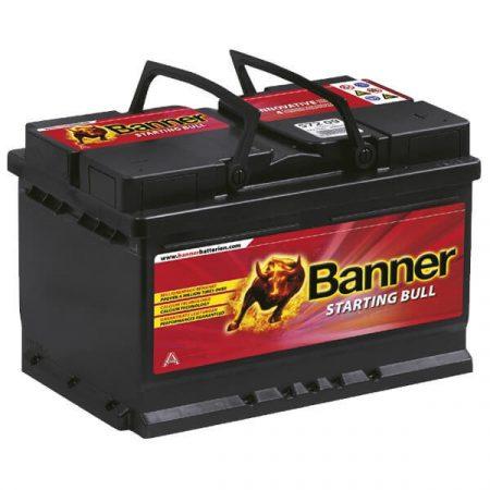 Banner Starting Bull 12V 72Ah 650A 57212 autó akkumulátor jobb+