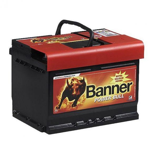 Banner Power Bull 12V 60Ah 540A P6009 autó akkumulátor jobb+