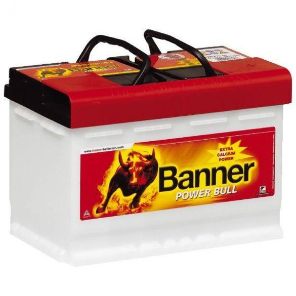 Banner Power Bull Professional 12V 77Ah 700A P7740 autó akkumulátor jobb+