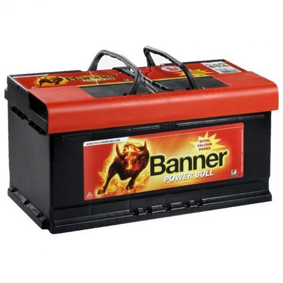 Banner Power Bull 12V 80Ah 700A P8014 autó akkumulátor jobb+