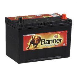 Banner Power Bull 12V 95Ah 740A P9504 autó akkumulátor ASIA jobb+