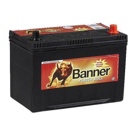 Banner Power Bull 12V 95Ah 740A P9504 autó akkumulátor ASIA jobb+ (+AJÁNDÉK!)