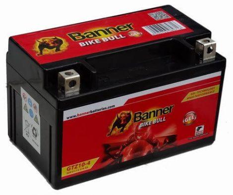 Banner GTZ10-4 9Ah 12V motorkerékpár akkumulátor (+AJÁNDÉK!)